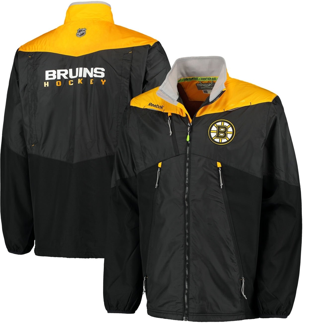 Reebok Boston Bruins Center Ice NHL Stadionjacke
