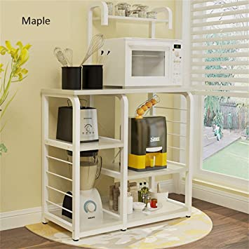 Muebles de cocina 3 capas de soportes para hornos de microondas ...
