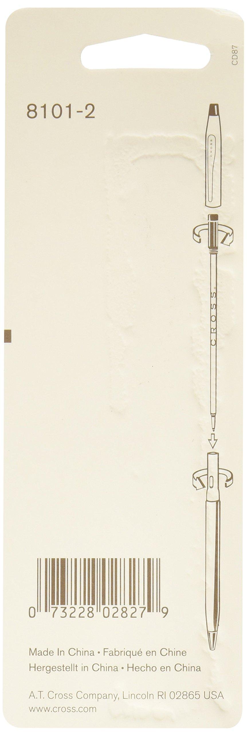 Cross Ballpoint Pen Refill 12-Pack Black Broad by Cross (Image #2)