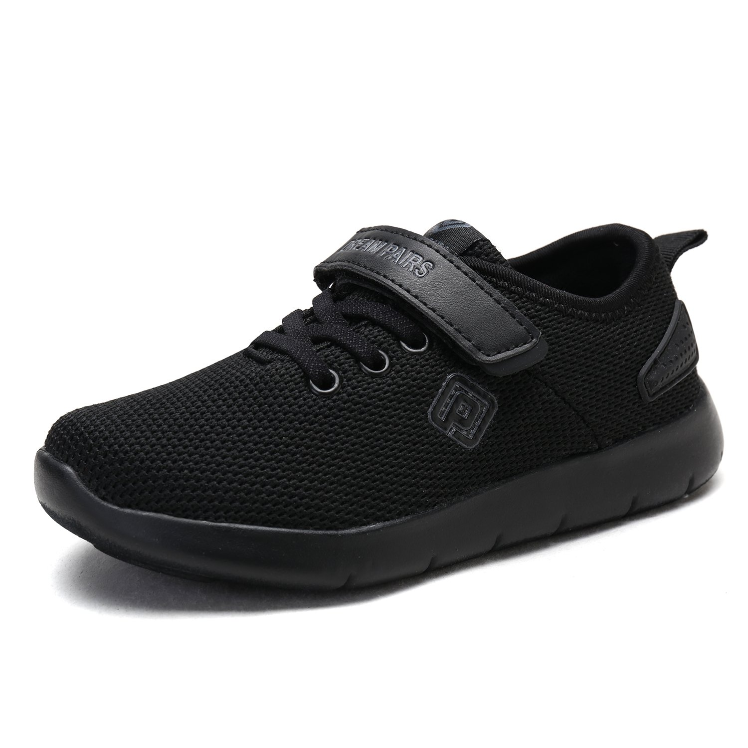 DREAM PAIRS Toddler 170945_K All Black Fashion Running Shoes Sneakers Size 7 M US Toddler