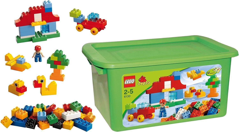 LEGO Duplo 6130 - Caja con Bloques de construcción: Amazon.es: Juguetes y juegos