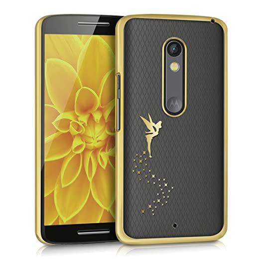 4 opinioni per kwmobile Elegante e leggera custodia Crystal Case Design fata per Motorola Moto