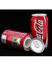 Coca Cola Stash Diversion Safe Can+Free Pack of 1 1/4 Rasta Wrap