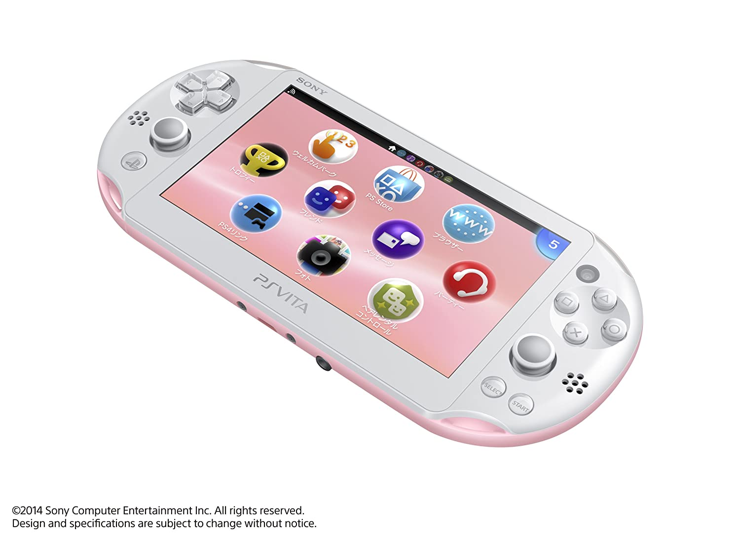PlayStation (R) Vita Wi-Fi Model Light Pink/White by ...