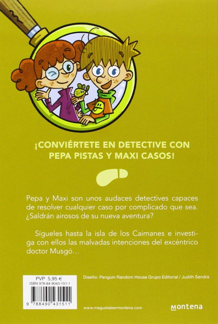 El caso de la isla de los caimanes Serie Los BuscaPistas 5: Amazon.es:  Teresa Blanch, José Ángel Labari Ilundain: Libros
