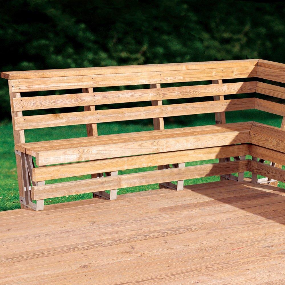 Deck Bench Ideas Part - 44: Amazon.com