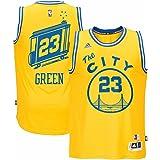 Draymond Green Golden State Warriors NBA Adidas Mens Gold Hardwood Classics Swingman Jersey