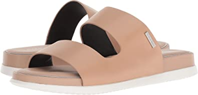 da986f4811576 Calvin Klein Womens Diona Open Toe Casual Slide Sandals