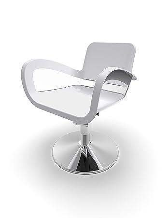 Merveilleux Bicolor Chair Base Round White