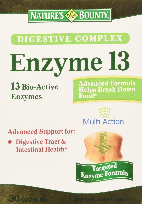 Amazon.com: Natures Bounty Complejo Digestivo Enzimas 13 30 ...