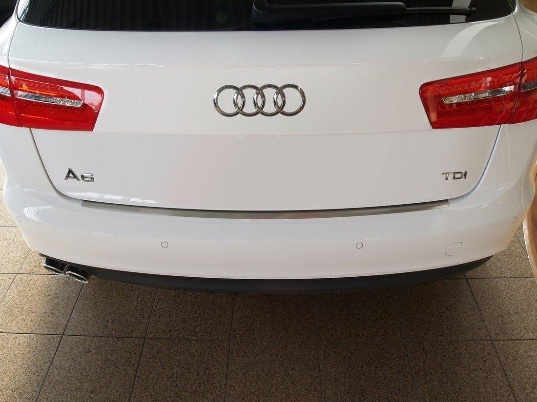 Edelstahl Heckstoßstangenschutz Kompatibel Mit Audi A6 Avant 2011 2018 Auto
