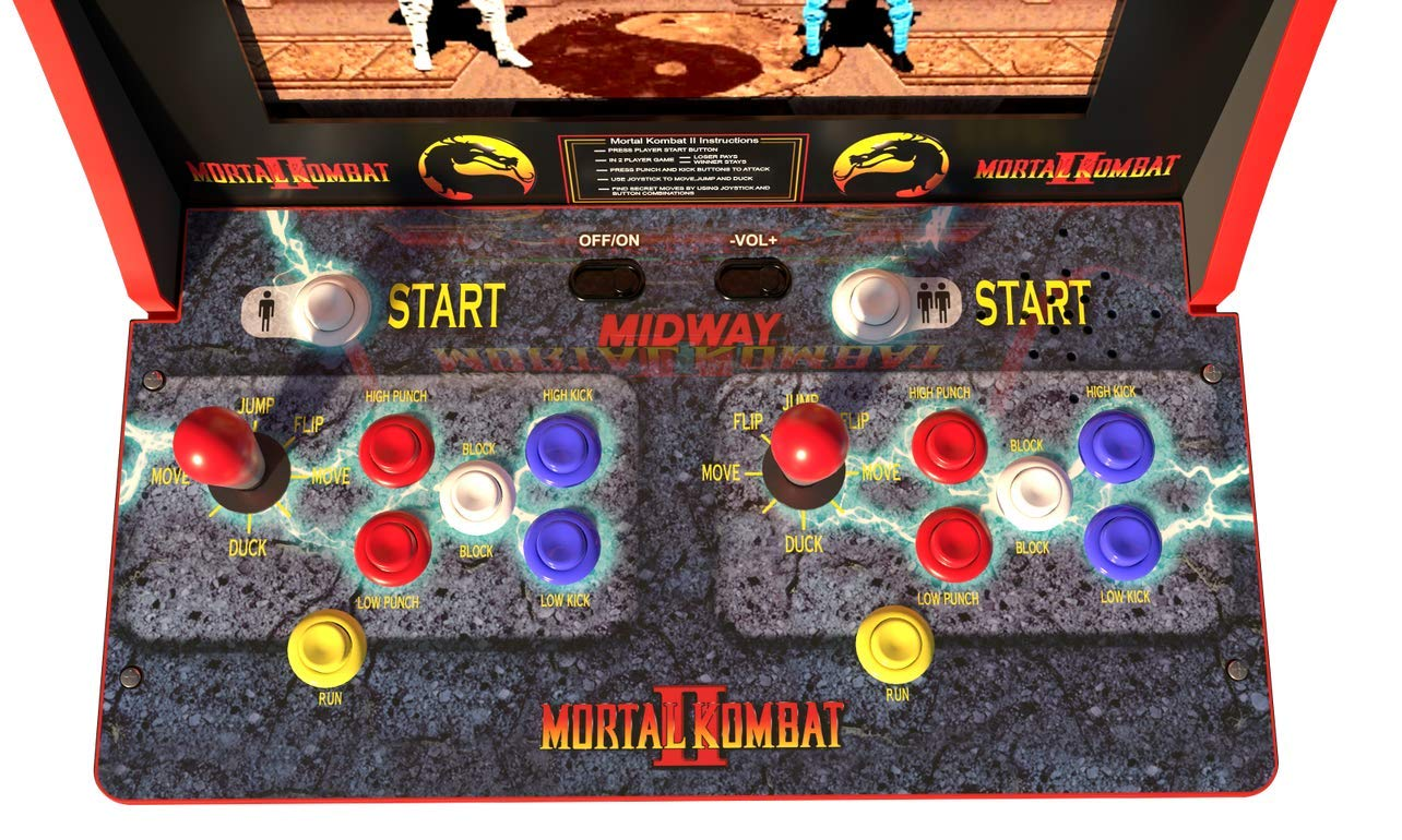 ARCADE1up Mortal Kombat, Mortal Kombat II, Mortal Kombat 3 (Available 2019) by ARCADE1up (Image #1)