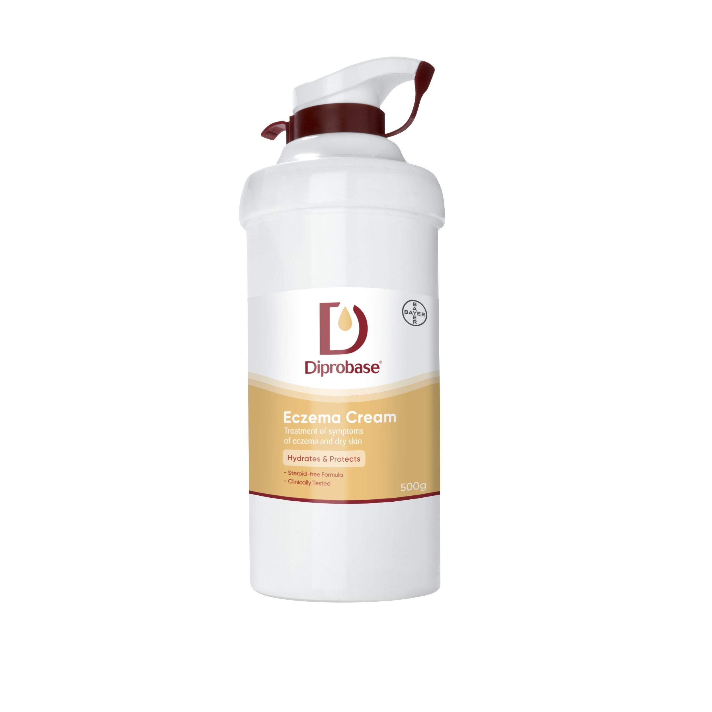 Diprobase Emollient Cream With Pump Dispenser 500Gm Pk Of 2