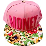premium selection d411d 1debd pleasance Snapback Men Women Baseball Cap Flat Bill Hat Adjust Hip Hop  Outdoor Dance Cotton