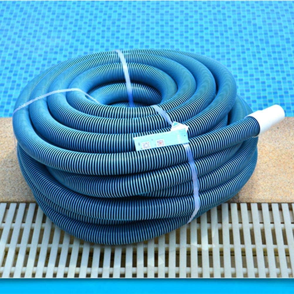 AA-SS Pool Hose Pool Pipe 32mm, UV Resistant Swimming Pool Hose with Cuffs for Manual Vacuuming, for Swimming Pool Pumps and Filtration Systems