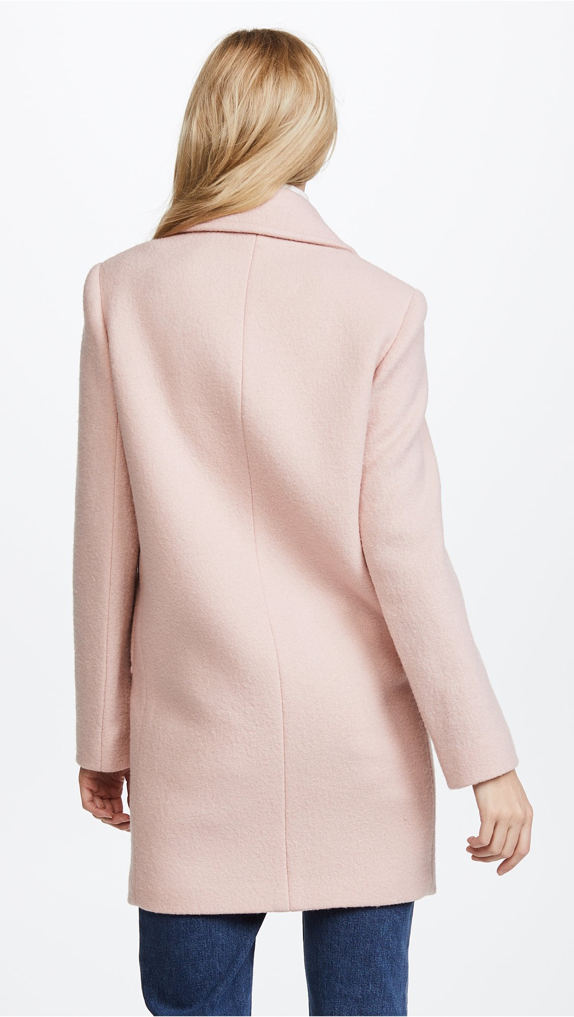 Theory Women's Cape Coat, Chalk Pink, S by Theory (Image #3)