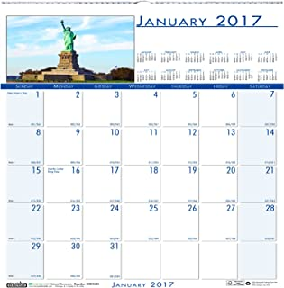 """product image for House of Doolittle 2017 Monthly Wall Calendar, Earthscapes National Monuments, 12"""" x 12"""" (HOD3439-17)"""