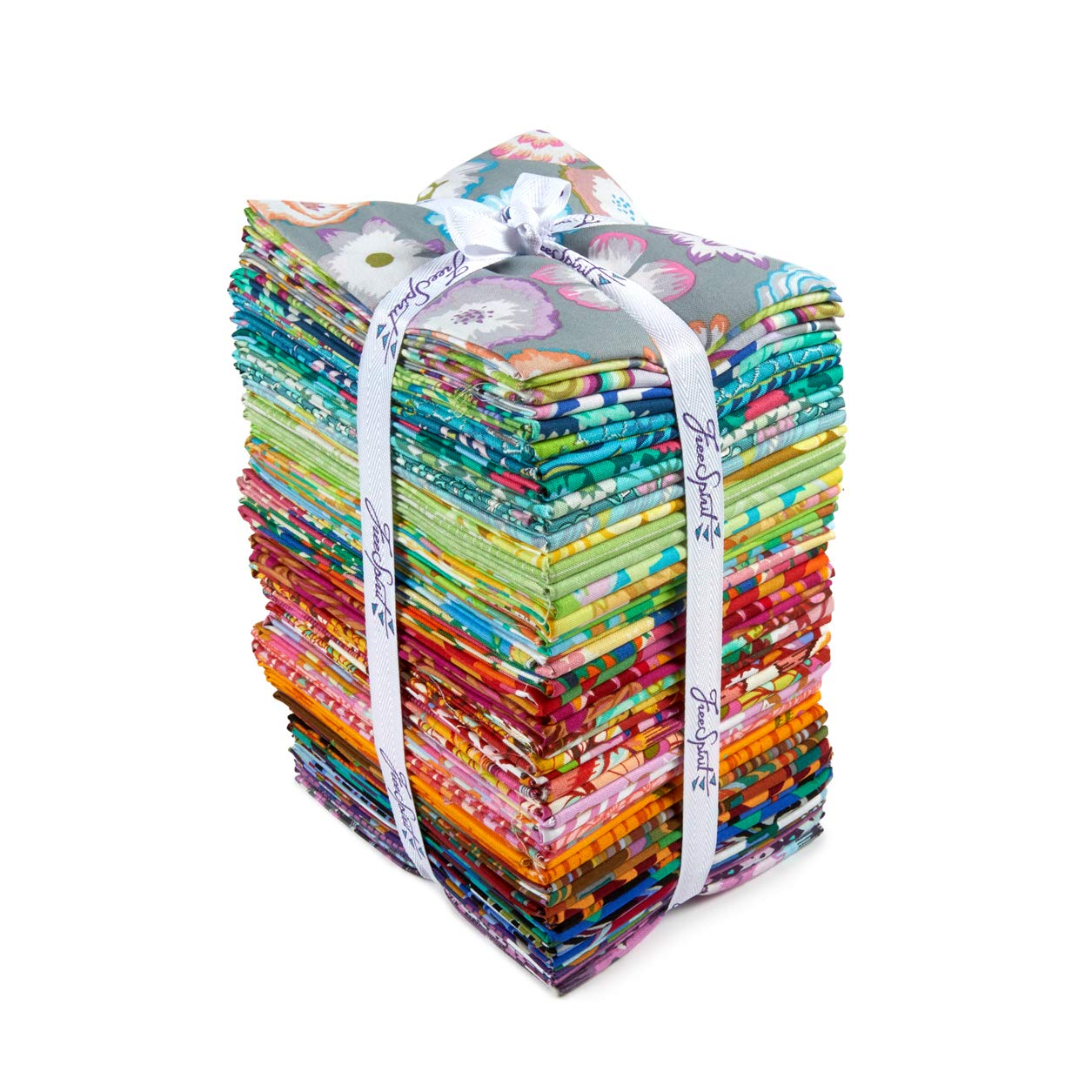 FreeSpirit Fabrics 50 Piece Designer Fat Quarter Fabric, Multicolor by Free Spirit Fabrics (Image #2)