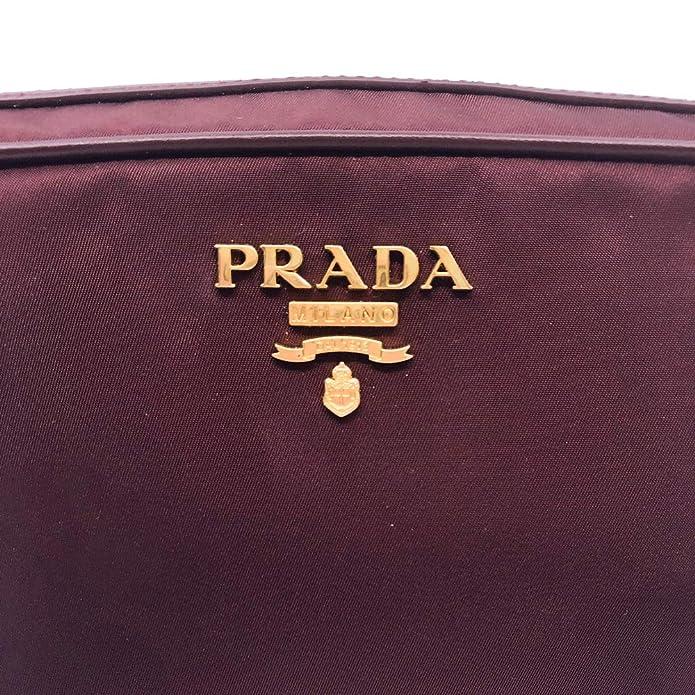 bolso mujer marrón prada melano