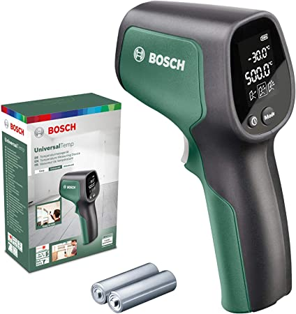 Bosch UniversalTemp - Termómetro Infrarrojo, Rango de Temperatura ...