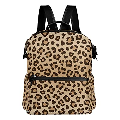 ALAZA Leopard Print Casual Backpack Lightweight Travel Daypack Student School Bag: Toys & Games