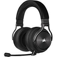 CORSAIR Virtuoso RGB Wireless XT High-Fidelity Gaming Headset with Spatial Audio, Slate