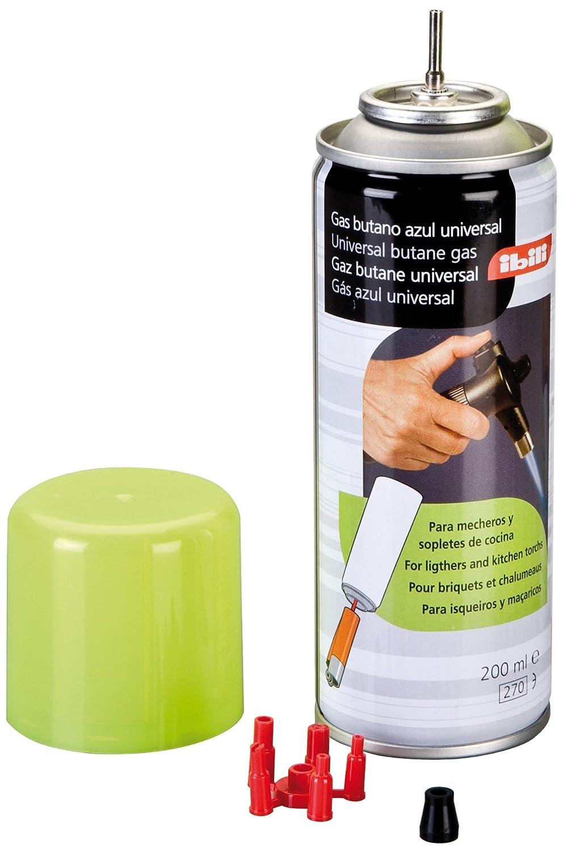 Gas para soplete de cocina