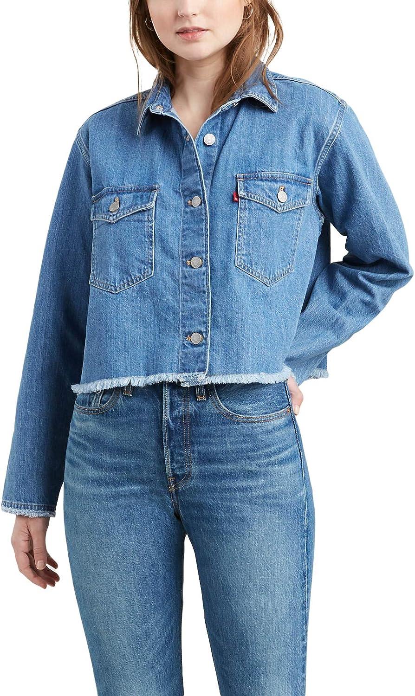 Camisa Levis Rania Cropped Azul Mujer S Azul: Amazon.es: Ropa y accesorios