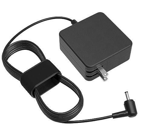 UL Listed 7.54Ft AC Charger for Asus Q304 Q304U Q304UA Q504 Q504U Q504UA Q553U Q553UB Q553 Q326FA Q326F Q326 Q504UA-BBI5T12 Q304UA-BBI5T10 Laptop ...