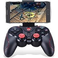 Maegoo Mando Windows PC, PS3 Mando 2.4G Bluetooth Game Controller Gamepad Joystick Inalámbrico con Soporte de Teléfono…