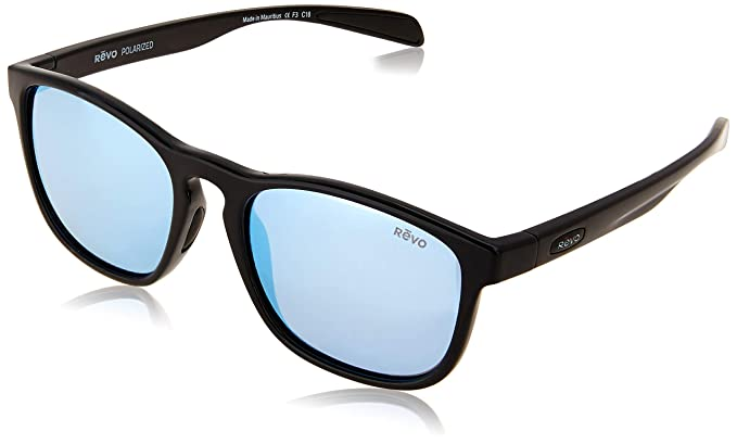 488a61f53c Image Unavailable. Image not available for. Color  Revo Unisex Unisex RE  5019 Hansen Rectangular Polarized UV Protection Sunglasses