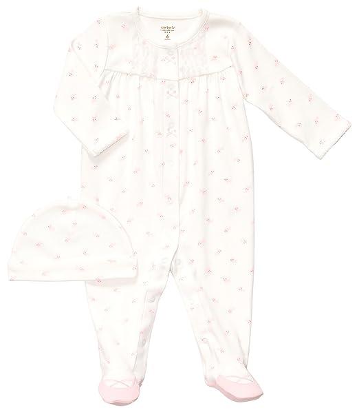 c9e0877a7 Amazon.com  Carter s Girls Sizes Newborn-6 Months Kitten 1 Piece ...