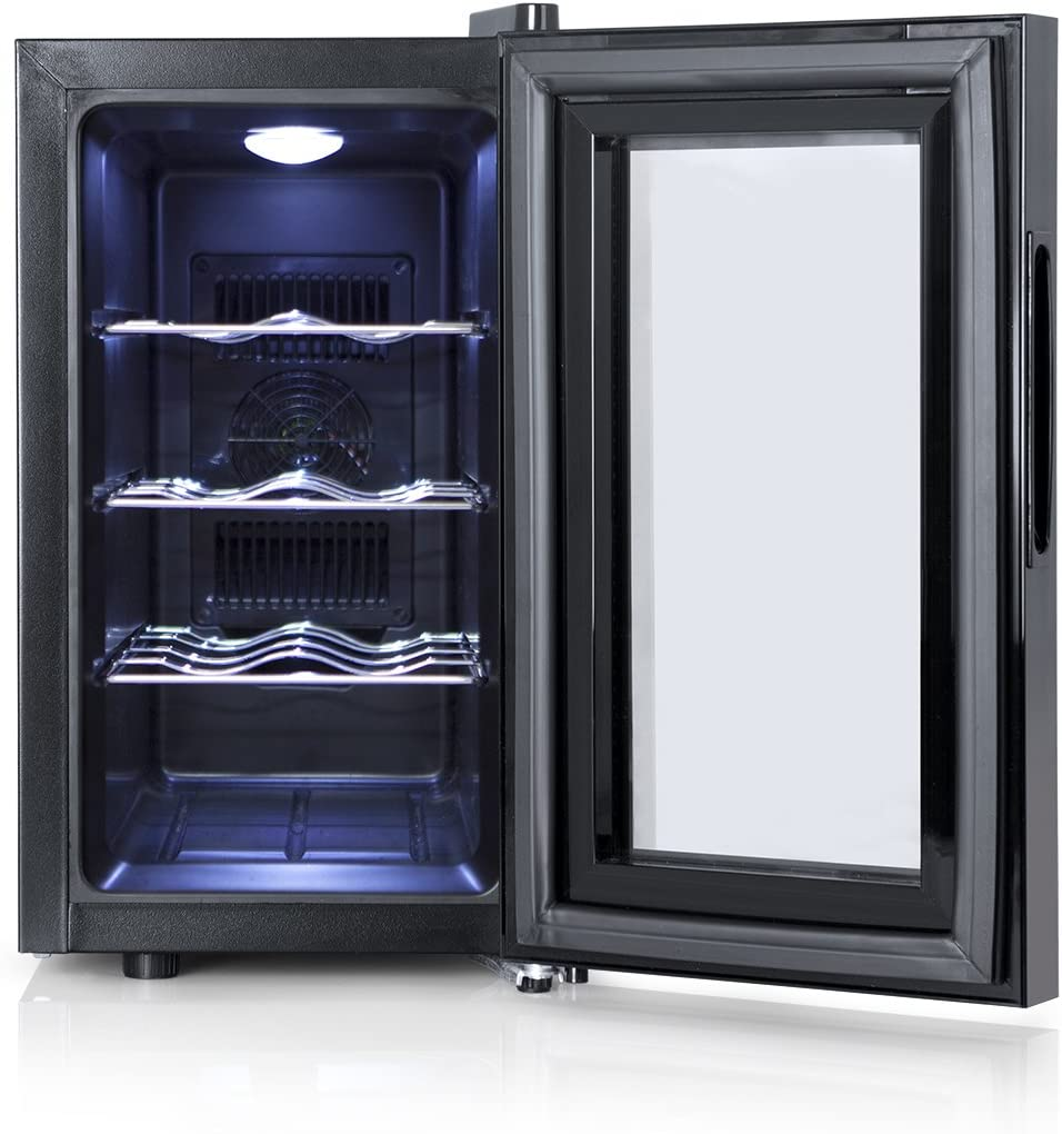 Orbegozo VT 810 - Vinoteca 8 botellas, 70 W, 25 l, LED, display ...