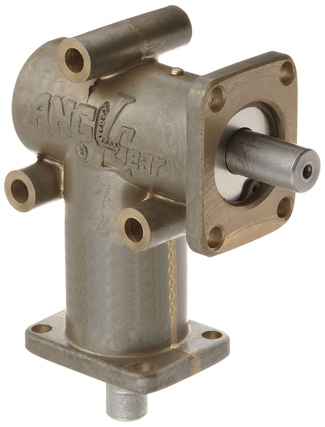 Andantex R3000-2 Anglgear Right Angle Bevel Gear Drive, Universal Mounting, Single Output Shaft, 2 Flanges, Inch, 3/8' Shaft Diameter, 2:1 Ratio.11 Hp at 1750rpm Gearheads & Speed Reducers