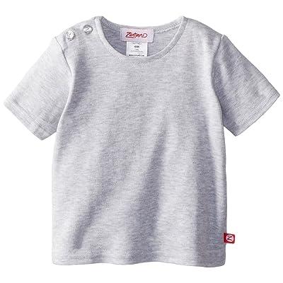Zutano Baby Boys' Primary Stripe Short Sleeve T-Shirt