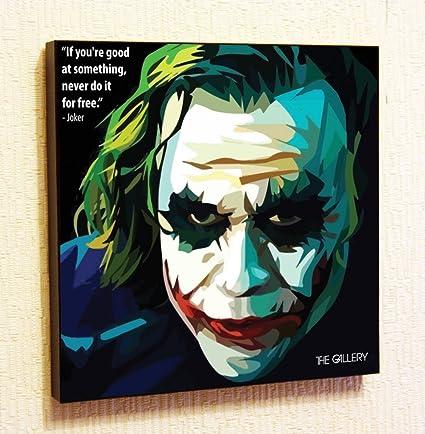 Amazon Com Joker Heath Ledger Marvel Dc Comics Super Hero
