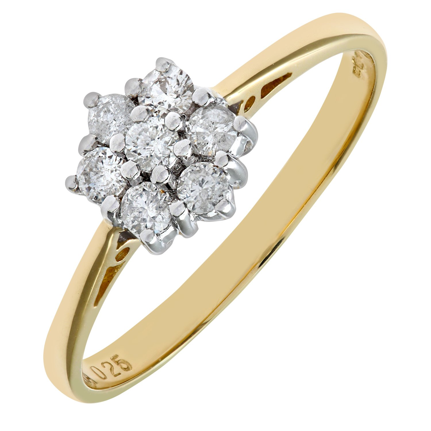 carat uk amazon ladies yellow gold dp ring diamond jewellery co naava