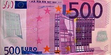 Serviette De Bain 500 Euros.Serviette De Bain Motif Billet De 500 Euros 150 Cm X 75 Cm