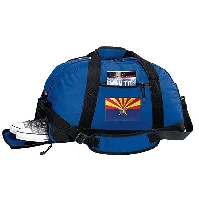 Arizona Flag Gym Bag - Arizona Duffel Bag w/ SHOE POCKETS
