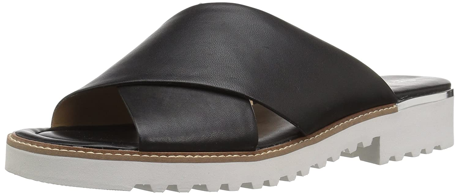 Franco Sarto Women's Tilden Slide Sandal B078VC21JQ 7.5 B(M) US|Black