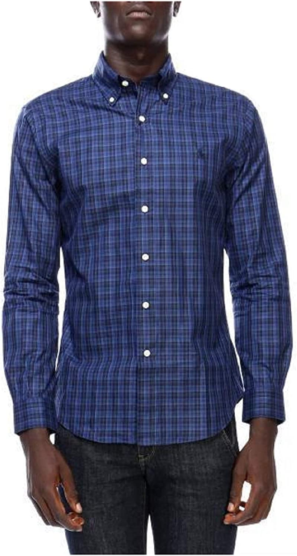 Ralph Lauren Camisa Polo Cuadros Azul/Negro M Dawn Blue/Black ...