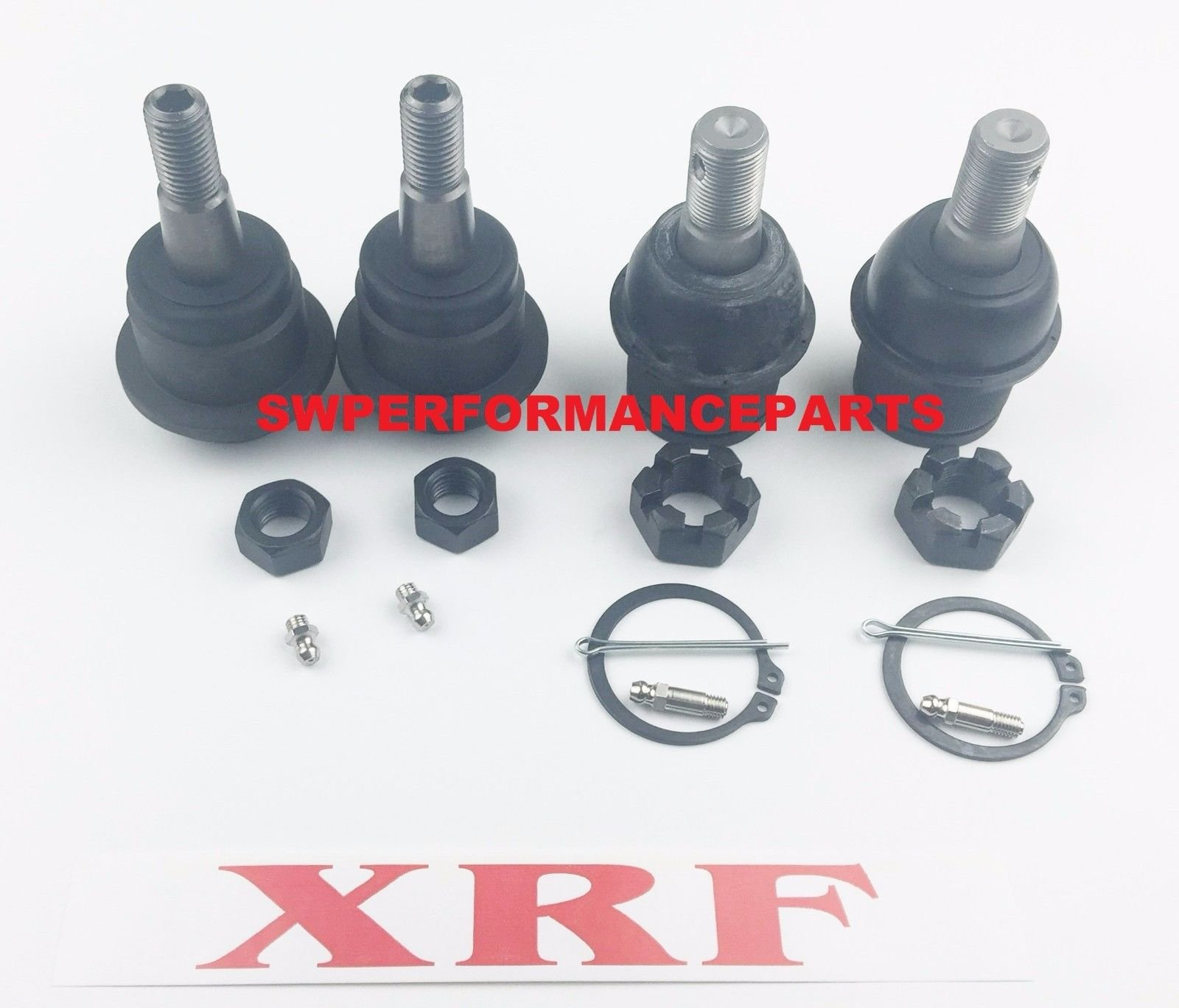 A-Team Performance XRF BALL JOINT KIT SET 2003-2013 RAM DODGE 2500 3500 4X4 IMPROVED DESIGN by A-Team Performance