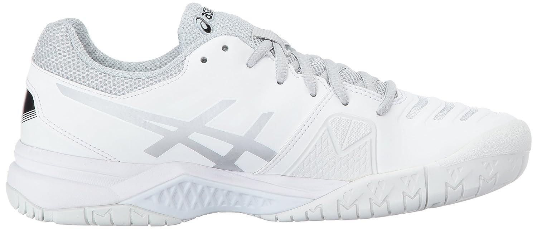 ASICS Women's Gel-Challenger 11 M Tennis Shoe B01N8U67WT 6.5 M 11 US|White/Silver 022653