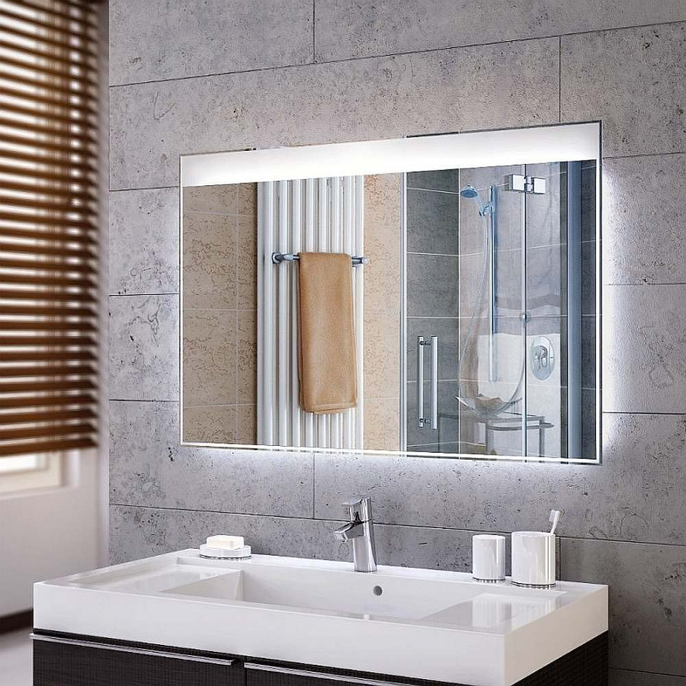 Interior Mirror With Led Lighting Range Of Designs Ap With Heating And Are Made To Measure Lit Bathroom Mirror Bathroom Mirror Living Room Wall Mirror Bathroom Accessories Bathroom Home Accessories Household Hallway