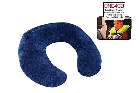GD-World - Cojín Cervical Azul el Cuello Almohada de Viaje ...