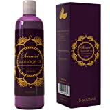 Honeydew Natural Hypoallergenic Skin Therapy Sensual Massage Oil with Pure Lavender Oil for Women and Men, 8-Ounce