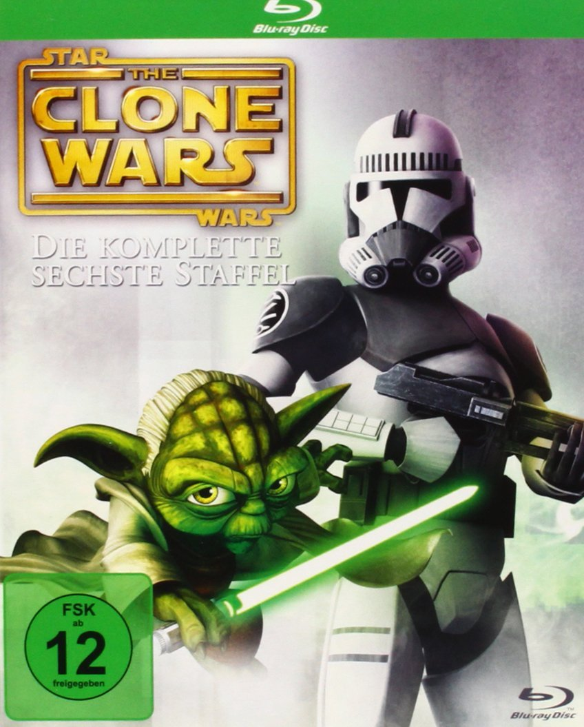 Star Wars - The Clone Wars - Staffel 6 Alemania Blu-ray: Amazon.es: Cine y Series TV