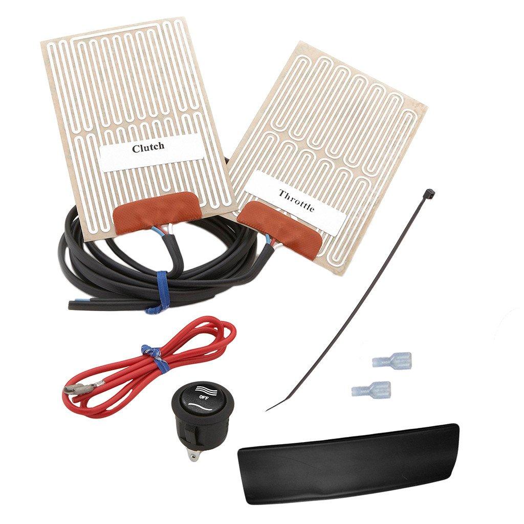 Heat Demon External Grip Warmer Kit for Motorcycle (210019RR)