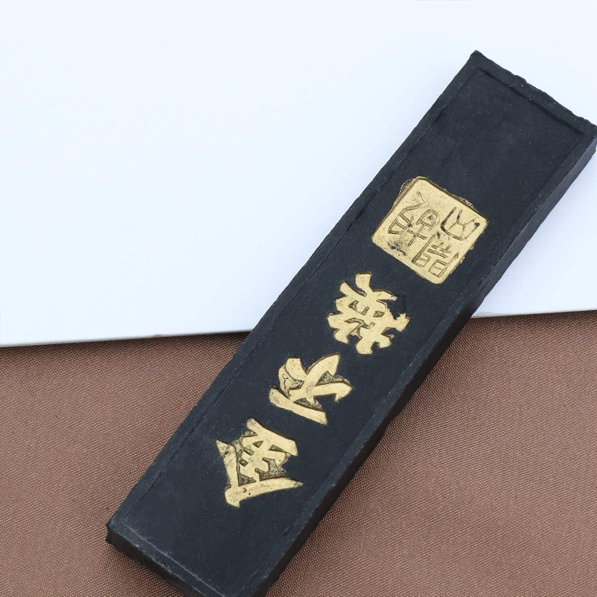 SUPVOX Ink Block Ink Stick Chinese Calligraphy Ink Stone Ink Stone for Japanese Calligraphy Painting Supplies Black