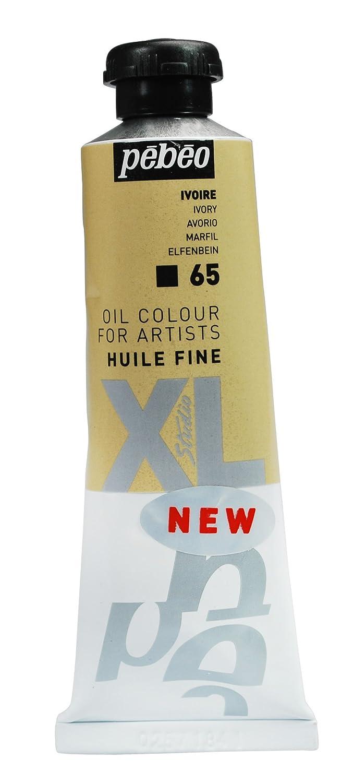 Pebeo Studio XL - Tubetto di colore ad olio fine, 37 ml, colore: Bianco avorio 937065